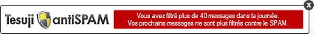 filtre antispam anti spam gratuit